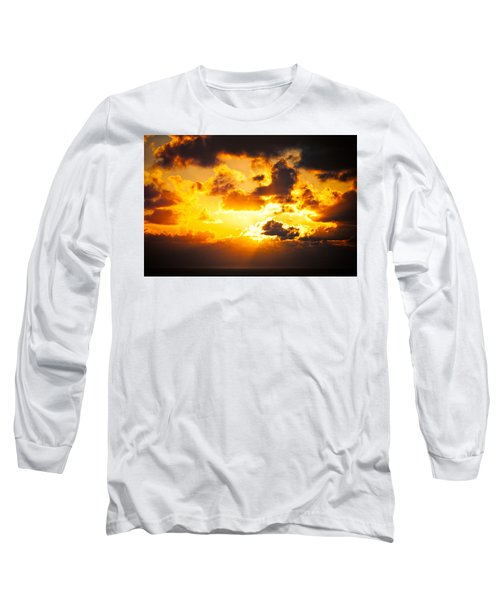 Sunrise On The Atlantic #17 Long Sleeve T-Shirt