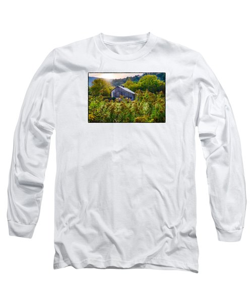 Sunrise On The Farm Long Sleeve T-Shirt by R Thomas Berner