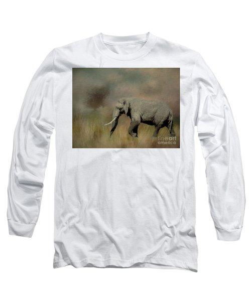 Sunrise On The Savannah Long Sleeve T-Shirt