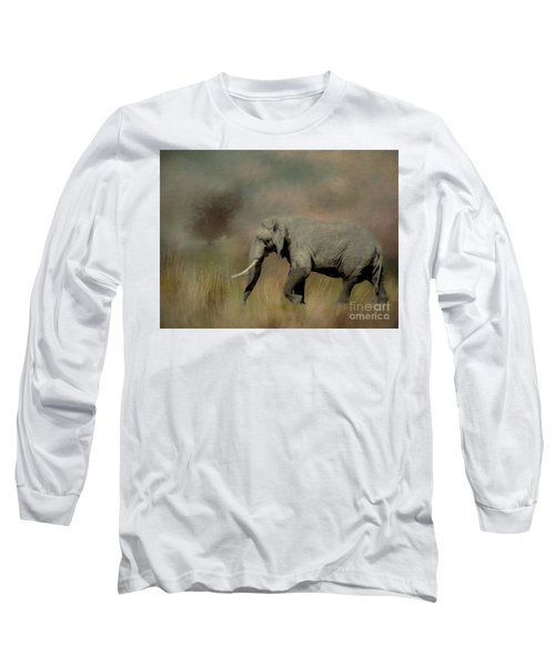 Sunrise On The Savannah Long Sleeve T-Shirt