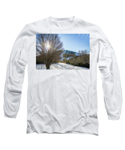 Sunrise Over Cataloochee Ski Long Sleeve T-Shirt