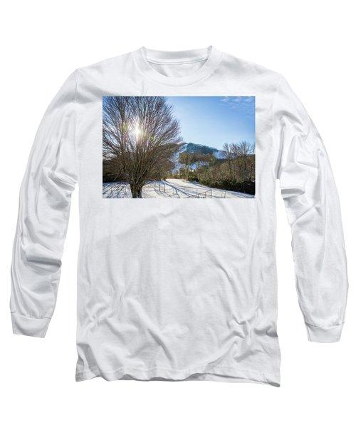 Sunrise Over Cataloochee Ski Long Sleeve T-Shirt