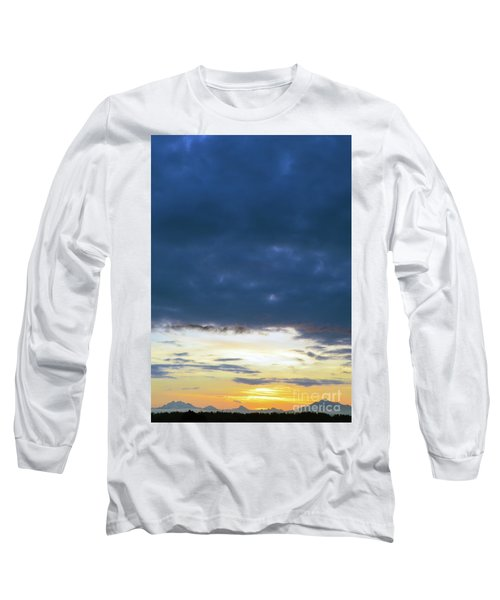 Sunrise Over The Cascades Long Sleeve T-Shirt