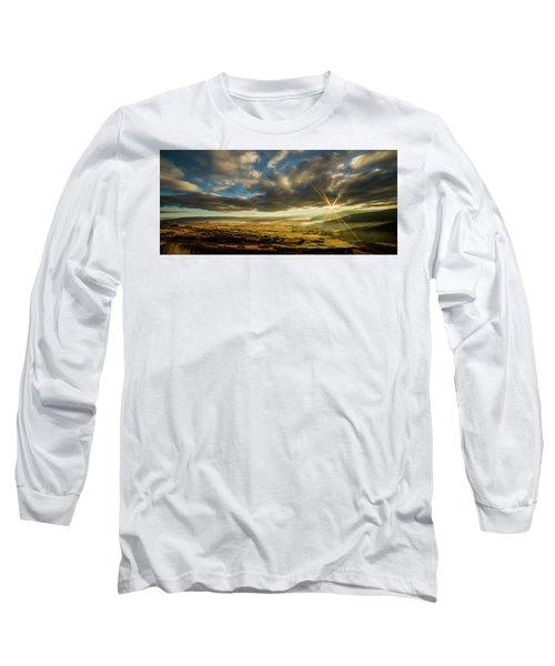 Sunrise Over The Heber Valley Long Sleeve T-Shirt