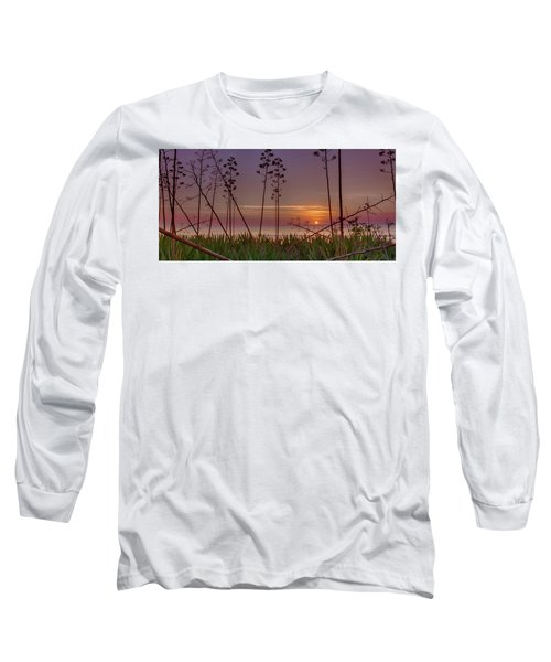 Sunrise Palm Blooms Long Sleeve T-Shirt