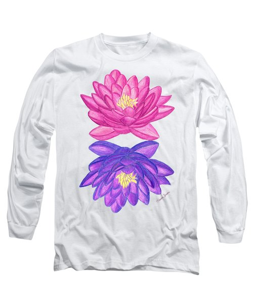Sunrise Sunset Lotus Long Sleeve T-Shirt