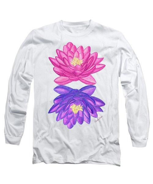 Sunrise Sunset Lotus Long Sleeve T-Shirt
