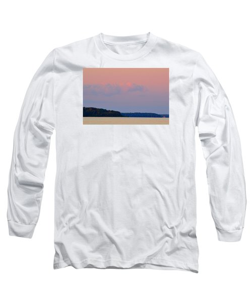 Long Sleeve T-Shirt featuring the photograph Sunset Clouds In The East 2  by Lyle Crump