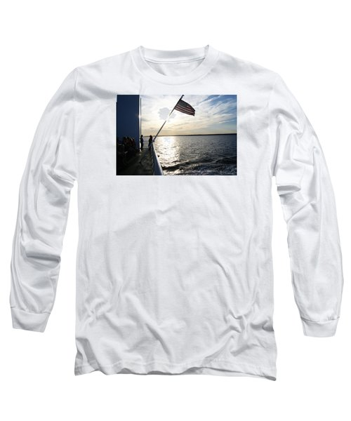Long Sleeve T-Shirt featuring the photograph Sunset Cruise by Margie Avellino