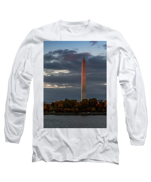 Sunset Glow Long Sleeve T-Shirt by Ed Clark