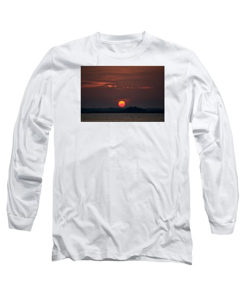 Sunset In Biloxi 2 Long Sleeve T-Shirt