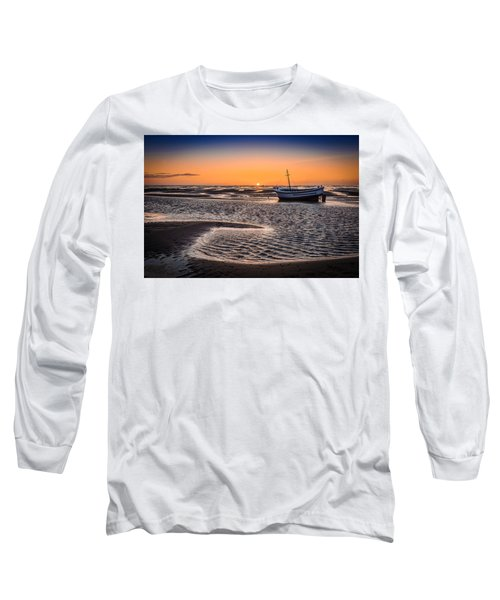 Sunset, Meols Beach Long Sleeve T-Shirt