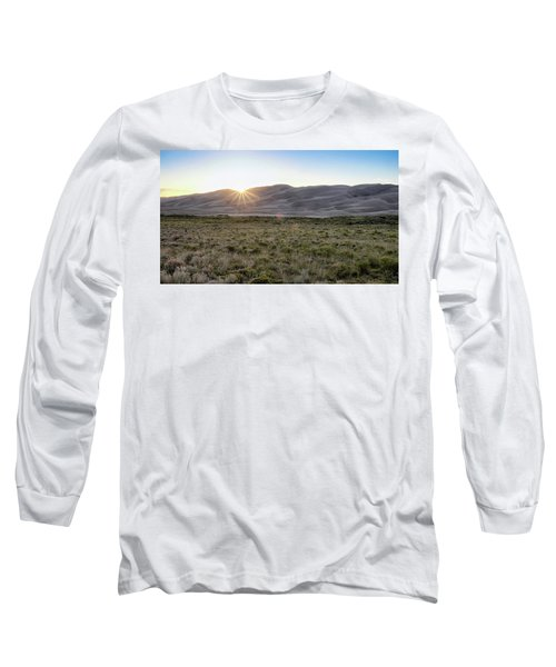 Sunset On The Dunes Long Sleeve T-Shirt by Monte Stevens