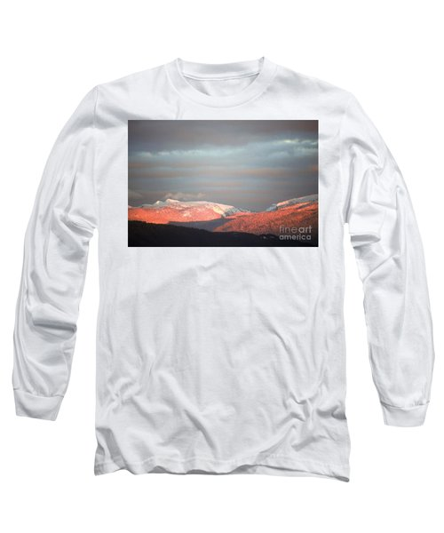 Long Sleeve T-Shirt featuring the photograph Sunset On The Monashees by Victor K