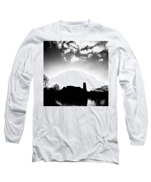 Sunset Over The Royal Shakespeare Company. Long Sleeve T-Shirt