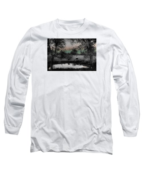 Sunset Over The Pond Long Sleeve T-Shirt