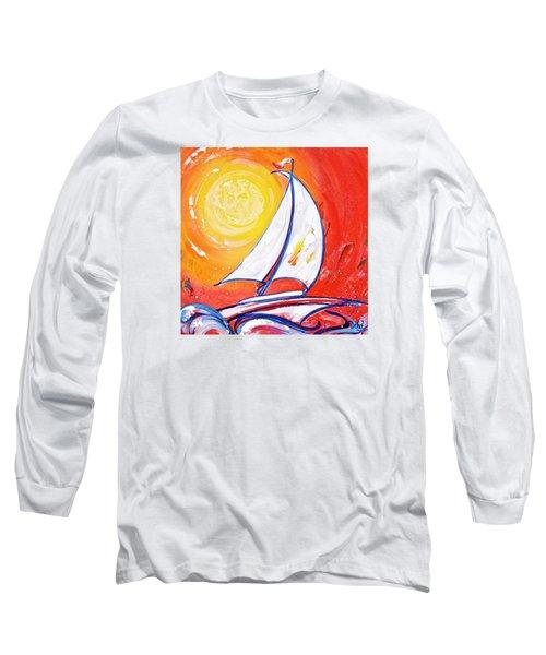 Sunset Sail Long Sleeve T-Shirt