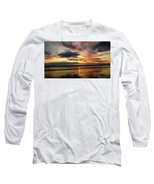 Sunset Split Long Sleeve T-Shirt