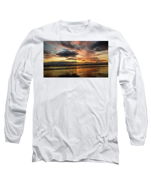 Sunset Split Long Sleeve T-Shirt