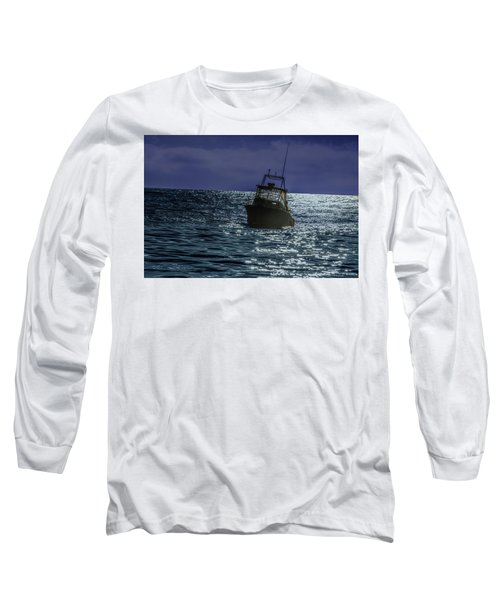 Sunsetting On Fisher Betting Long Sleeve T-Shirt