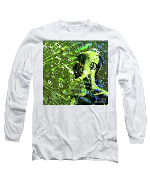 Long Sleeve T-Shirt featuring the photograph Sunshine And Daisies by LemonArt Photography