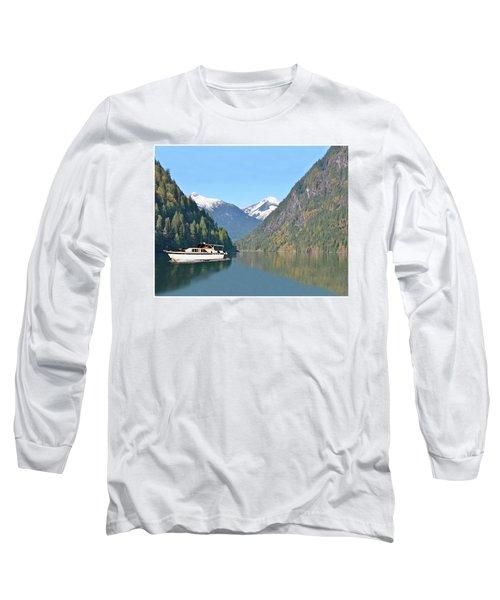 Sunshine Coast Cruising Long Sleeve T-Shirt by Jack Pumphrey