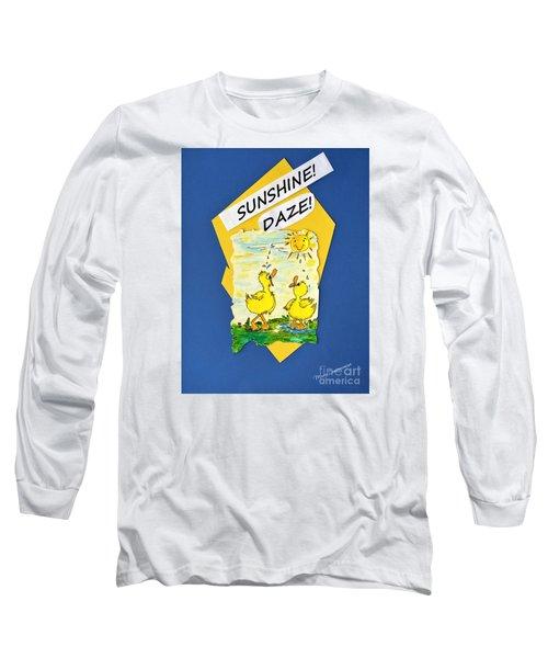 Sunshine Daze Long Sleeve T-Shirt