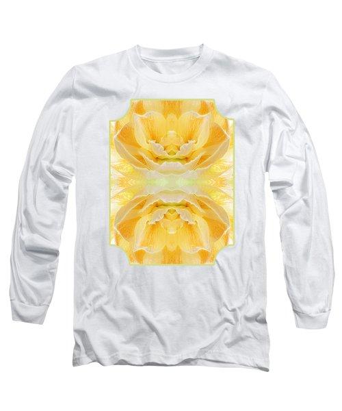 Sunshine Mosaic -  Vertical Long Sleeve T-Shirt