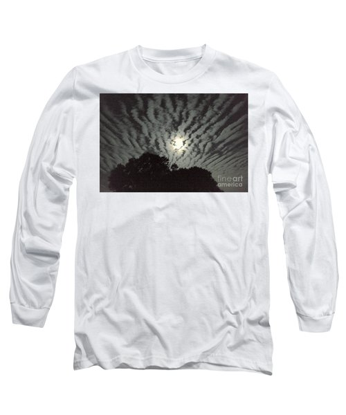 Super Moon Long Sleeve T-Shirt by Irma BACKELANT GALLERIES