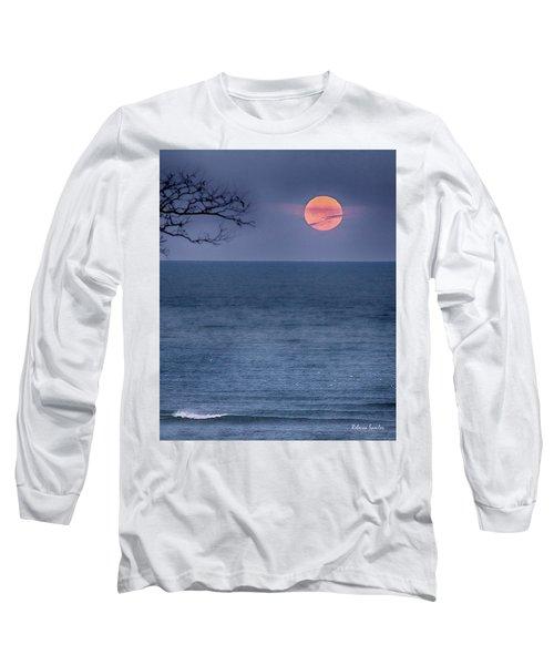 Super Moon Waning Long Sleeve T-Shirt