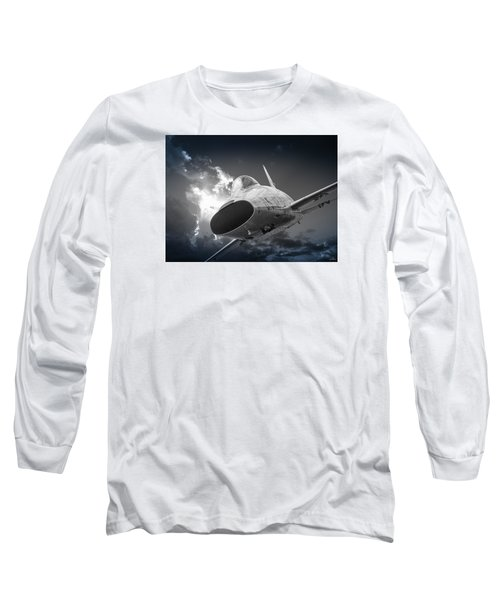 Super Sabre Rolling In On The Target Long Sleeve T-Shirt