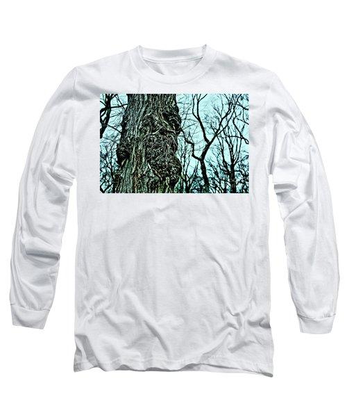 Super Tree Long Sleeve T-Shirt by Sandy Moulder