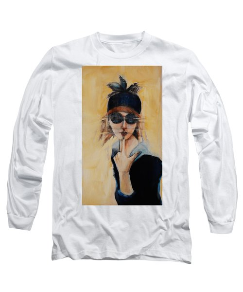 Superficially Evocative Long Sleeve T-Shirt by Jean Cormier