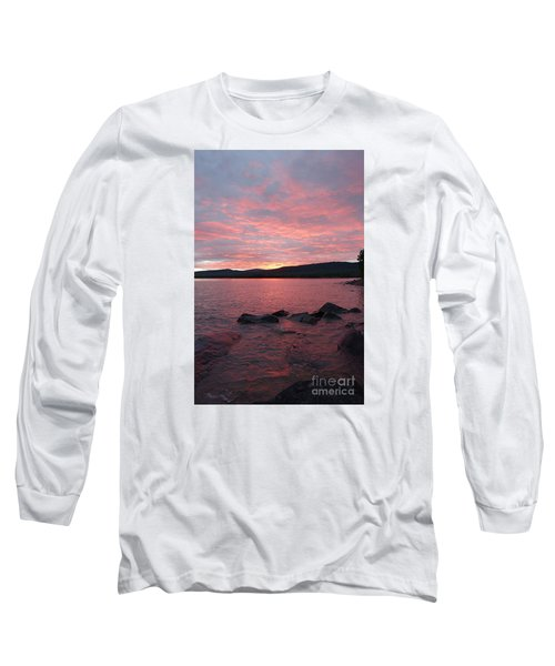 Long Sleeve T-Shirt featuring the photograph Superior Delight by Sandra Updyke