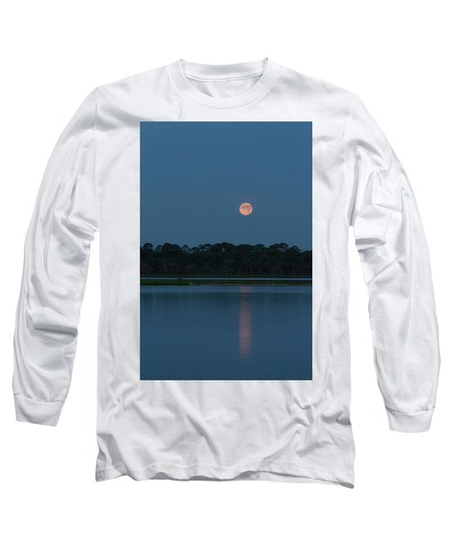 Supermoon Dawn 2013 #2 Long Sleeve T-Shirt
