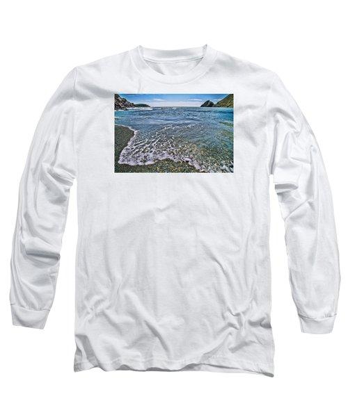 Surf #2959 Long Sleeve T-Shirt by Andrey  Godyaykin
