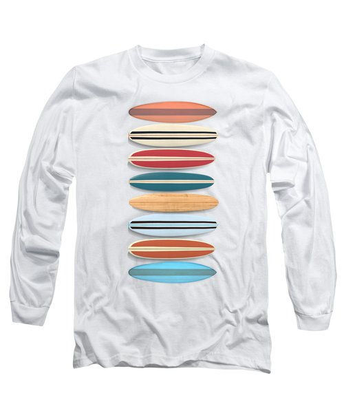 Surf Boards Tee And Phone Case Long Sleeve T-Shirt