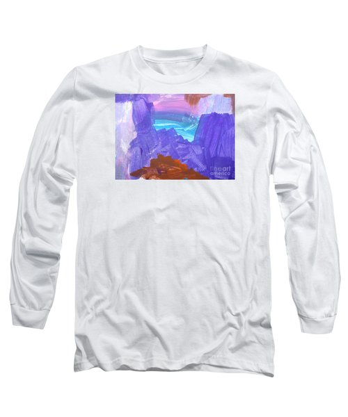 Surf By Hannah Long Sleeve T-Shirt by Fred Wilson
