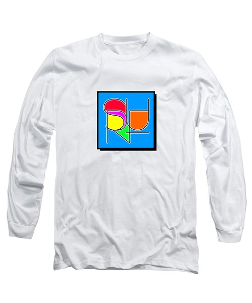 Surf In Abstract Long Sleeve T-Shirt