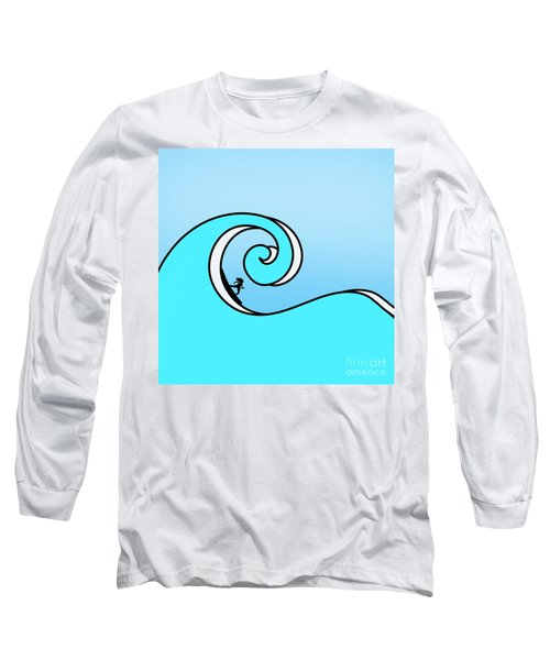 Surfing The Wave Long Sleeve T-Shirt