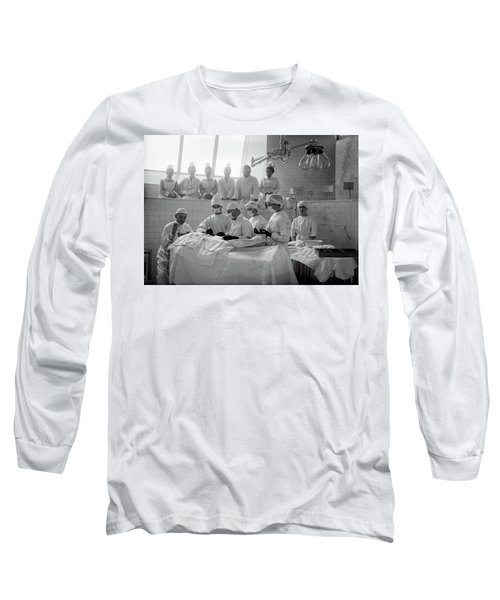 Long Sleeve T-Shirt featuring the photograph Surgery Theater C. 1917 by Daniel Hagerman