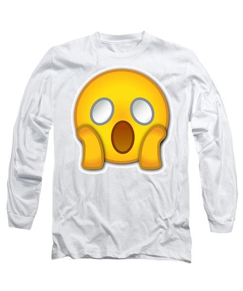 Surpriesd Smiley Long Sleeve T-Shirt