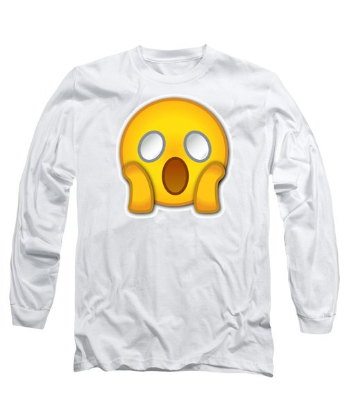 Surpriesd Smiley Long Sleeve T-Shirt