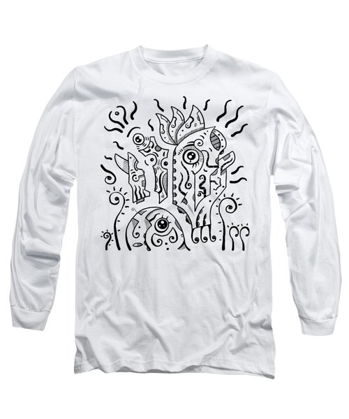 Surrealism Eyes Long Sleeve T-Shirt