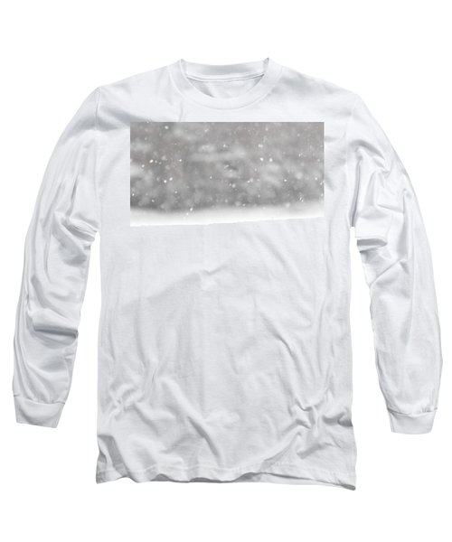 Surreal Snowdrops Long Sleeve T-Shirt