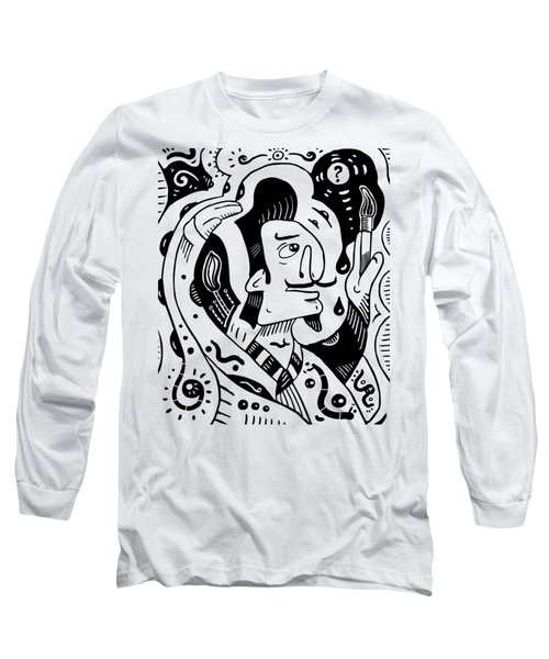Surrealism Painter Long Sleeve T-Shirt