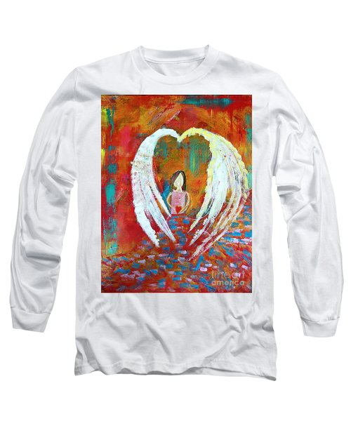 Surrounded By Love Long Sleeve T-Shirt