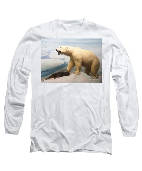 Survival Of The Fittest Long Sleeve T-Shirt by Cindy Manero