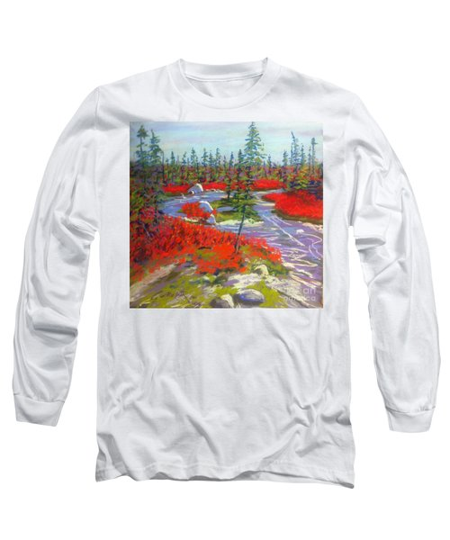 Susie Lake Barrens Long Sleeve T-Shirt by Rae  Smith