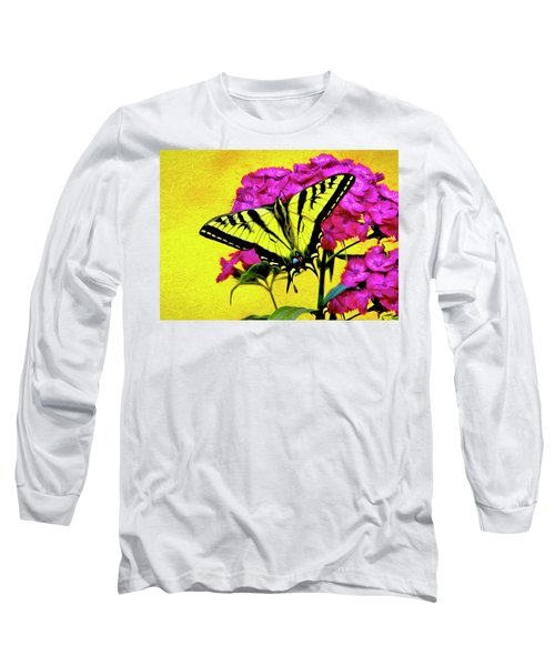 Swallow Tail Feeding Long Sleeve T-Shirt